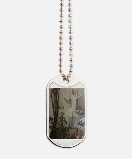 Funny White gold Dog Tags