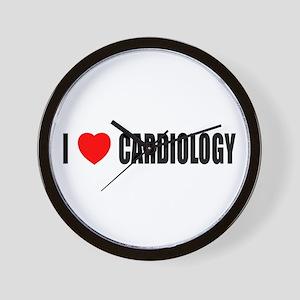 I Love Cardiology Wall Clock