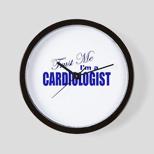 Trust Me I'm a Cardiologist Wall Clock