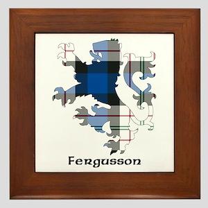 Lion-Fergusson dress Framed Tile