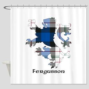 Lion-Fergusson dress Shower Curtain