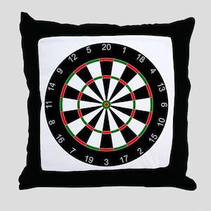 dart board Throw Pillow