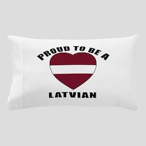 Latvian Patriotic Designs Pillow Case