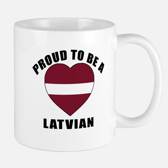 Latvian Patriotic Designs Mug