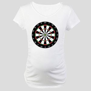 dart board Maternity T-Shirt