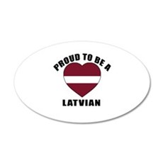 Latvian Patriotic Designs Wall Sticker