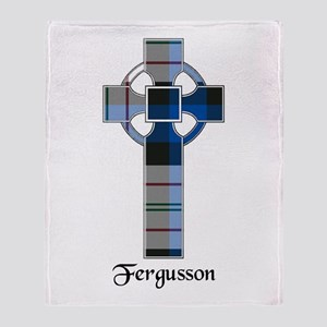 Cross-Fergusson dress Throw Blanket