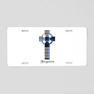 Cross-Fergusson dress Aluminum License Plate