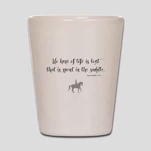 Horses Hour of Life (dressage) Shot Glass