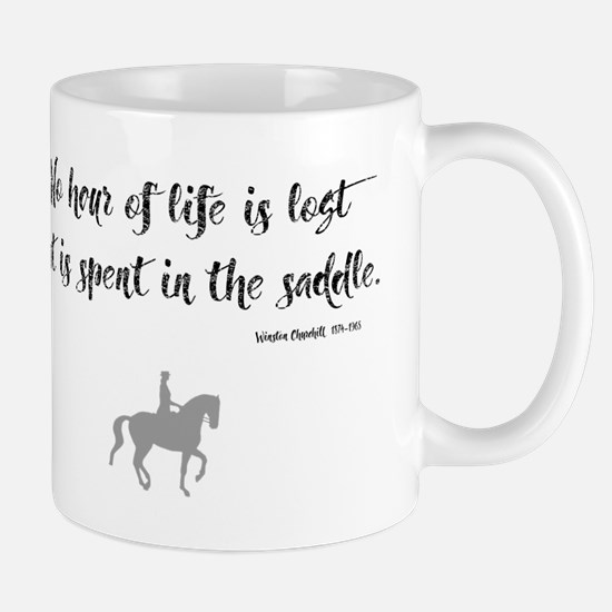 Horses Hour of Life (dressage) Mugs
