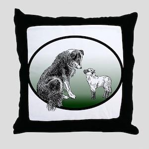 club logo Throw Pillow