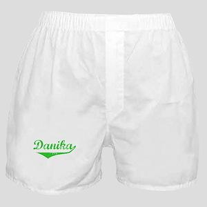 Danika Vintage (Green) Boxer Shorts