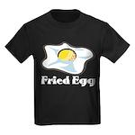 Fried Egg Kids Dark T-Shirt