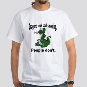 People don't. White T-Shirt