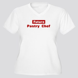 Future Pastry Chef Women's Plus Size V-Neck T-Shir