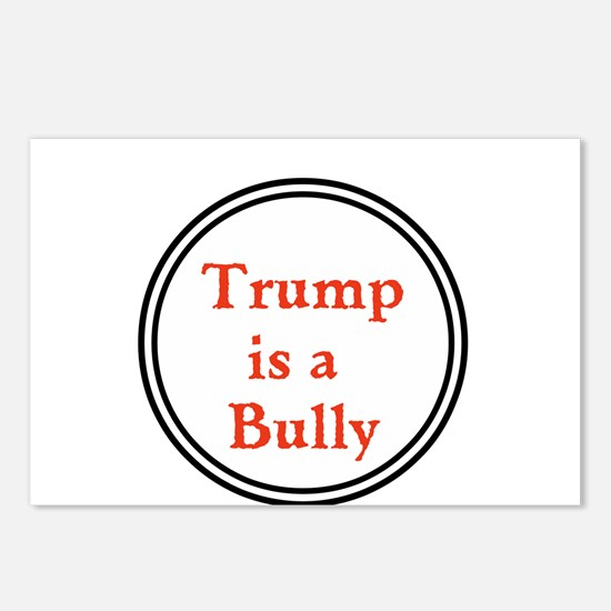 Trump is a big bully... Postcards (Package of 8)