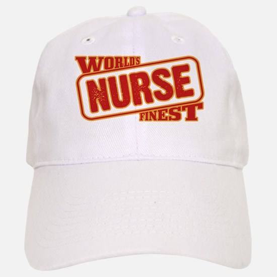 World's Finest Nurse Baseball Baseball Cap