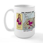 Any Questions? Large Mug