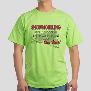 ONE BALL Green T-Shirt