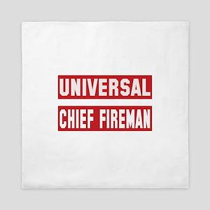 Universal Chief fireman Queen Duvet