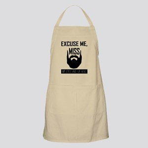 Excuse Me Miss.. Beard Lover Graphic Apron