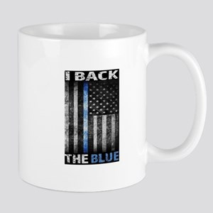 I Back The Blue Mugs