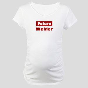 Future Welder Maternity T-Shirt