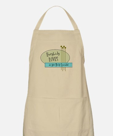Everybody Loves an Auto Body Specialist BBQ Apron