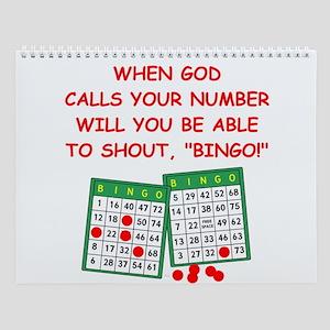 Christian Wall Calendar