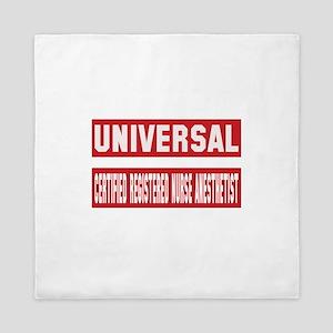 Universal Certified Registered Nurse A Queen Duvet