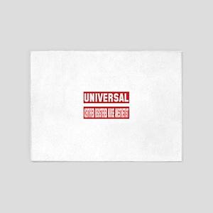 Universal Certified Registered Nurs 5'x7'Area Rug