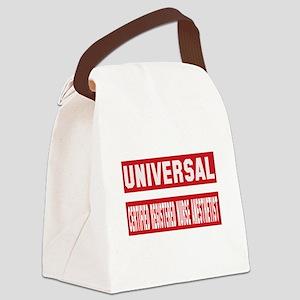 Universal Certified Registered Nu Canvas Lunch Bag