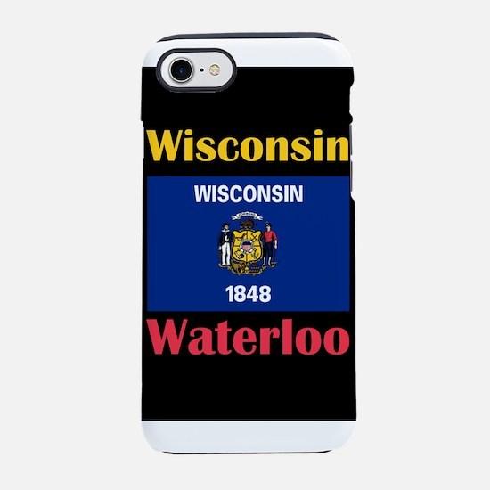 Waterloo Wisconsin iPhone 8/7 Tough Case