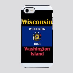 Washington Island Wisconsin iPhone 8/7 Tough Case