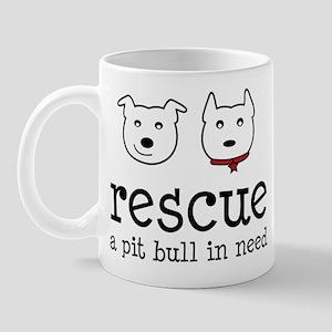 Rescue a Pit Bull Mug