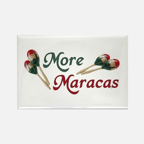 More Maracas Rectangle Magnet