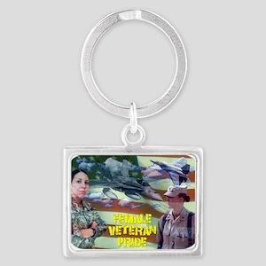 femaleveteranpride Keychains