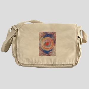 Spin Art 3 Messenger Bag