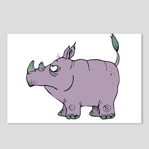 Stubborn Rhino Postcards (Package of 8)