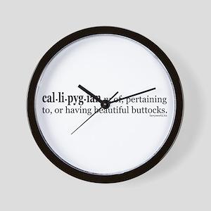 Callipygian Wall Clock