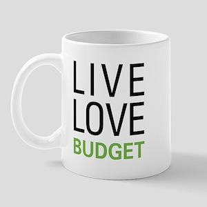 Live Love Budget Mug