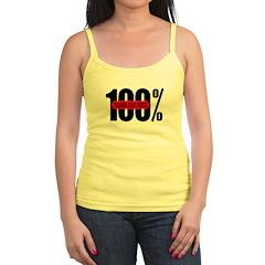 100 Percent Trans Fat Free Jr.Spaghetti Strap