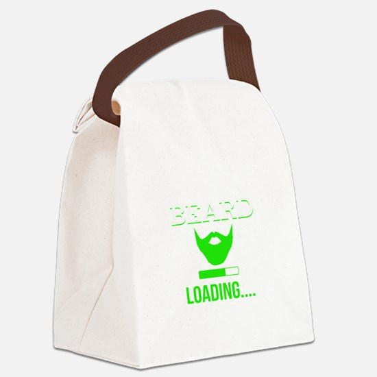Beard Loading Canvas Lunch Bag