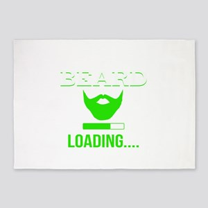 Beard Loading 5'x7'Area Rug