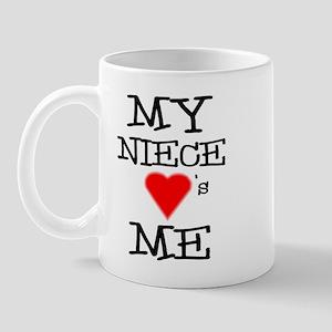 My Niece Loves Me Mug
