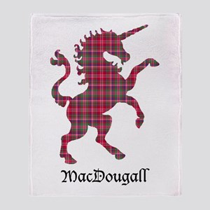 Unicorn - MacDougall Throw Blanket