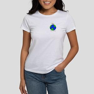 StopColorVersion2aFRONTwithglobe T-Shirt