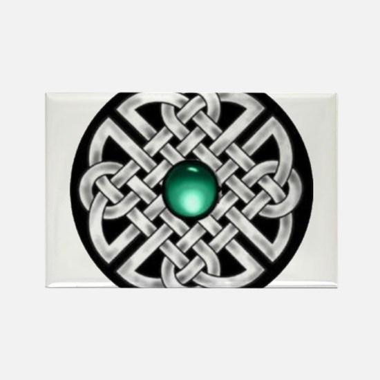 Celtic Circle Rectangle Magnet