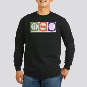 Eat Sleep Sudoku Long Sleeve T-Shirt