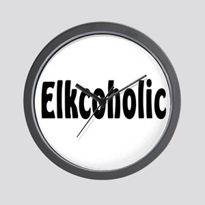 Elkcoholic Wall Clock